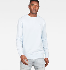 G-Star G-star Core Round Neck Sweat Laundry Blue