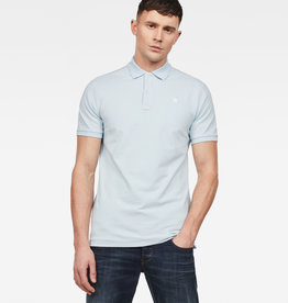G-Star G-Star Dunda Slim Polo S/S Laundry Blue