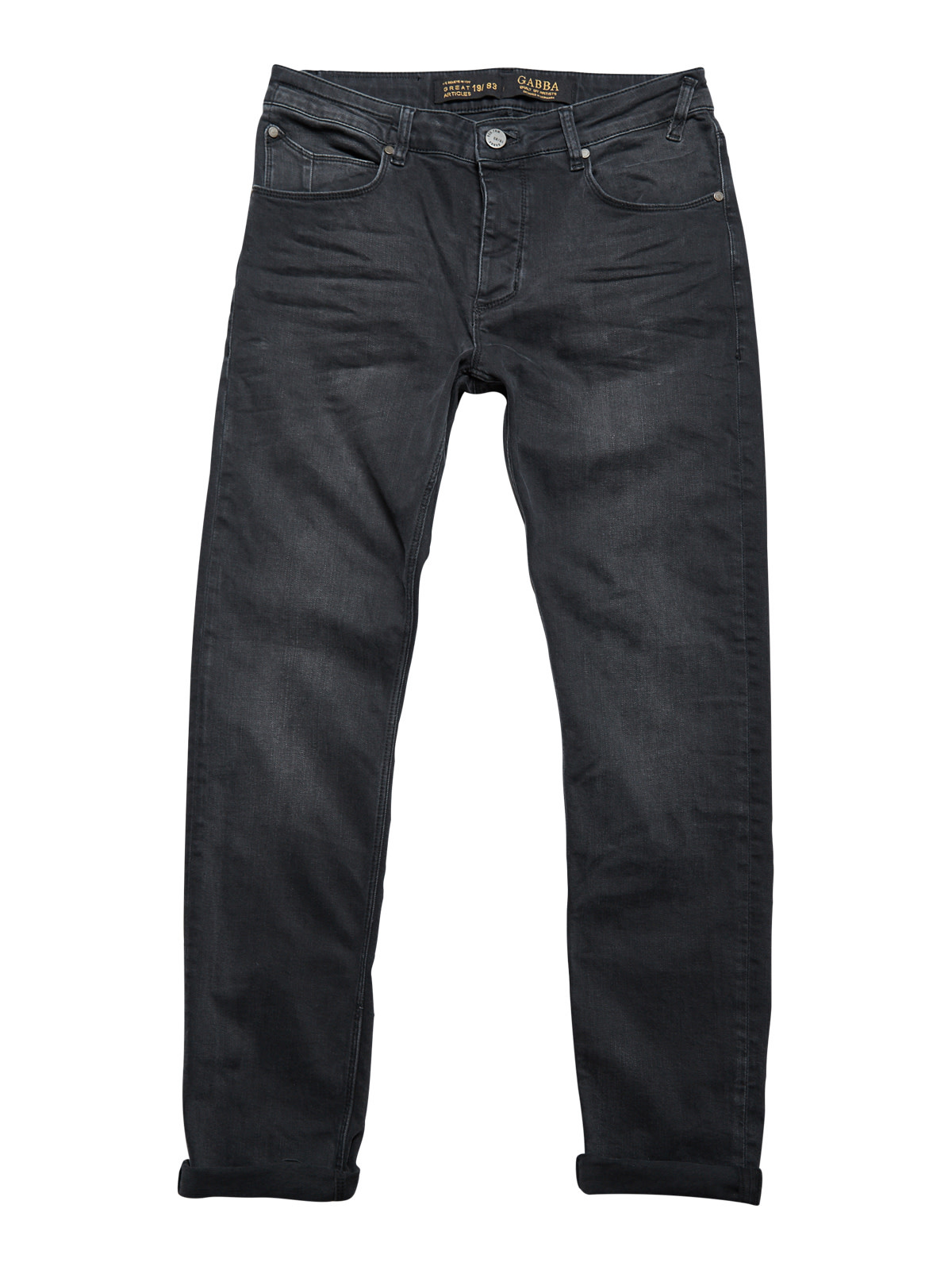 Gabba Denim Gabba Denim Rey Slim Fit Thor Black