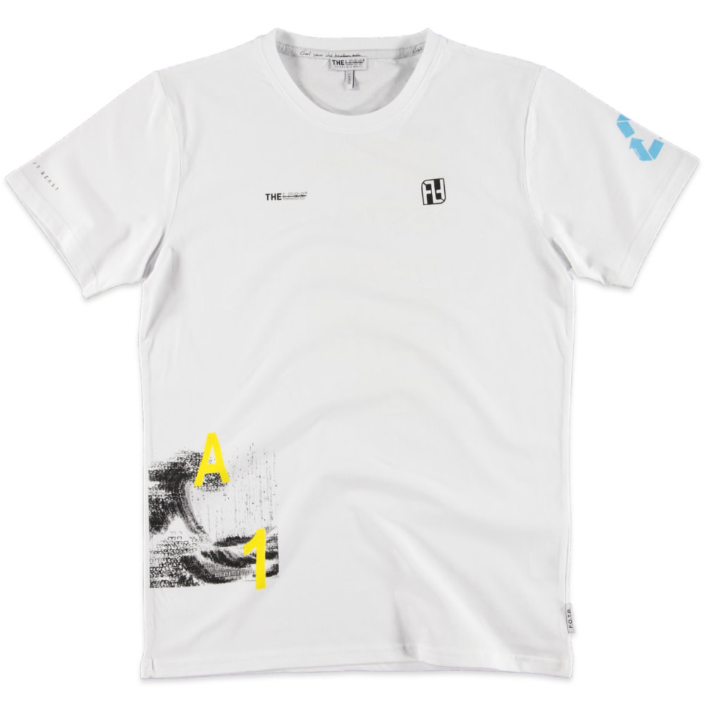Flight of the Beast FOTB THE LESS The Architect Tee White