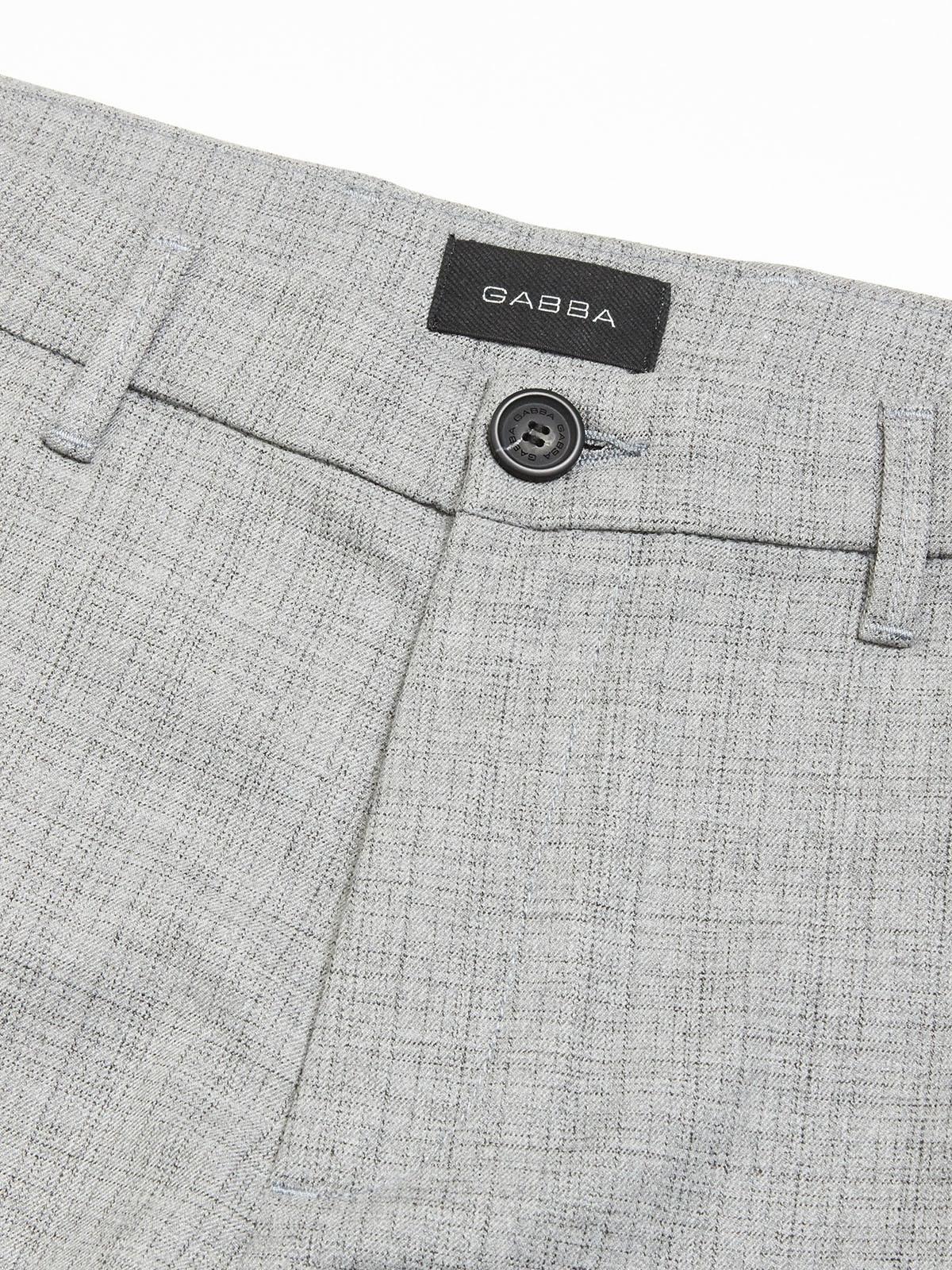 Gabba Denim Gabba Pisa Cross Check Pants Light Grey