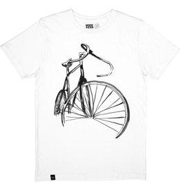 Dedicated Dedicated Sketch Bike Tee Off White