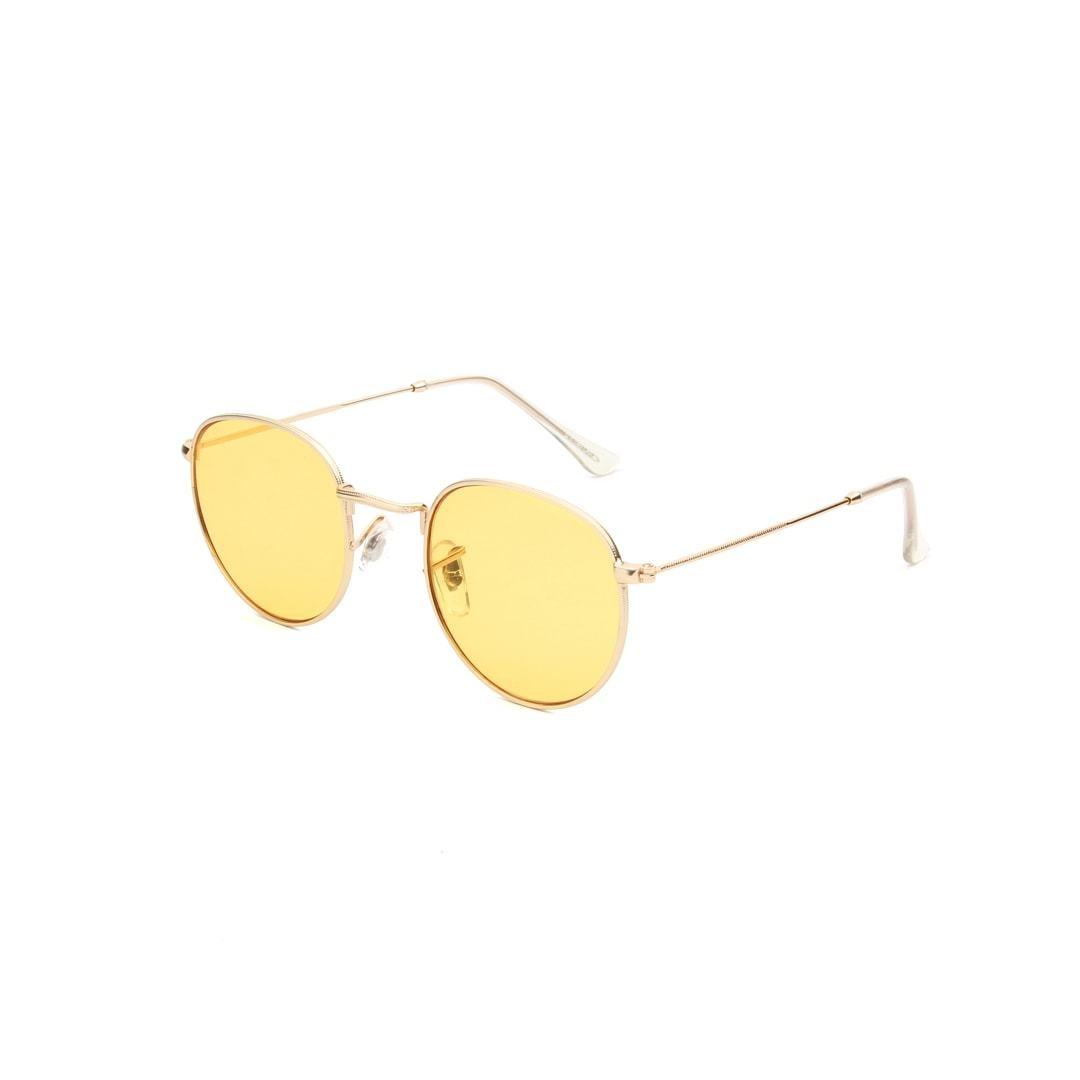 A. Kjaerbede A. Kjaerbede Hello Gold Yellow Lens