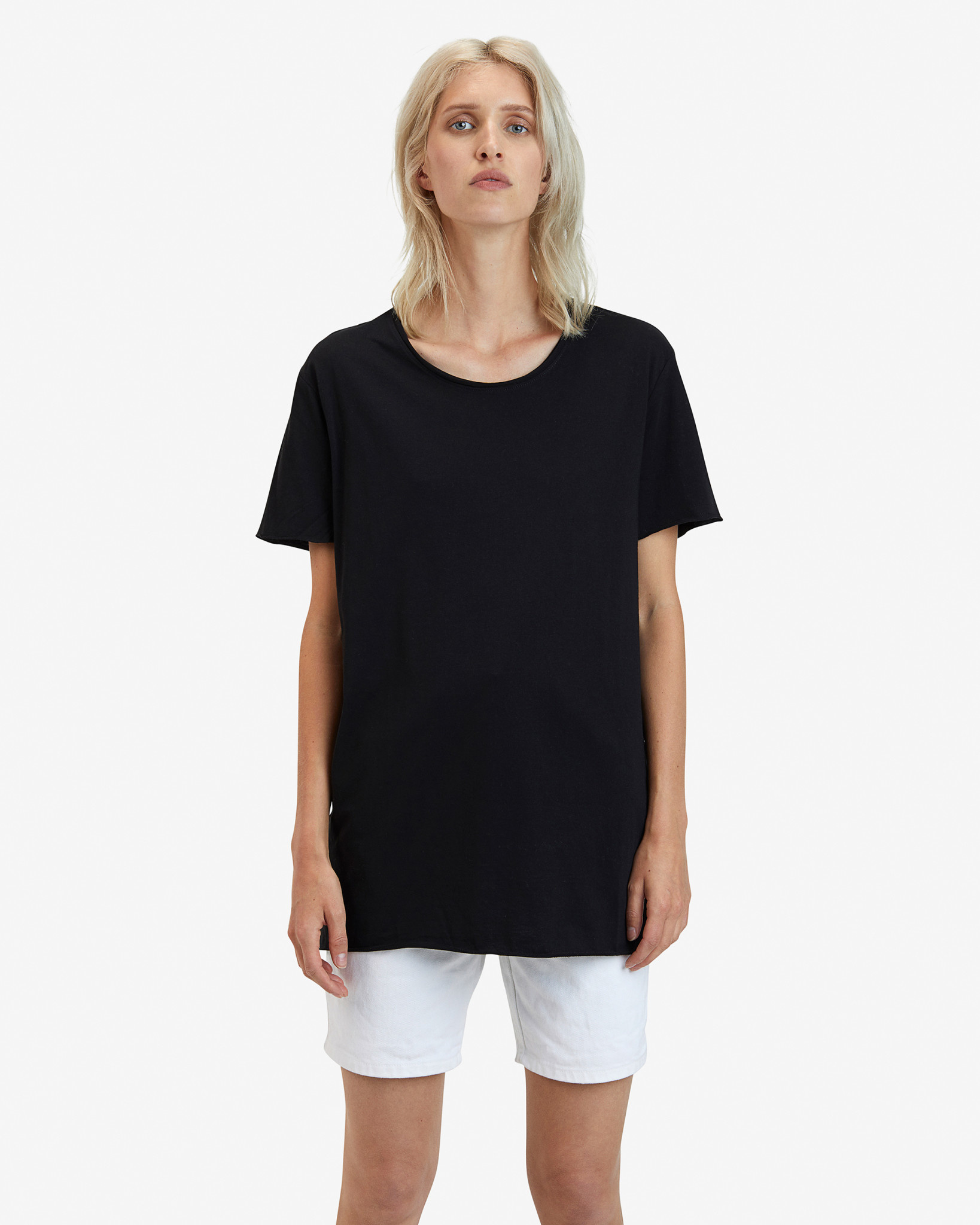 GOAT Apperal Goat Stevie Unisex Long Tee Black