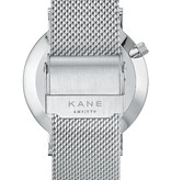 Kane Watches Kane Watch Blue Arctic Silver Mesh