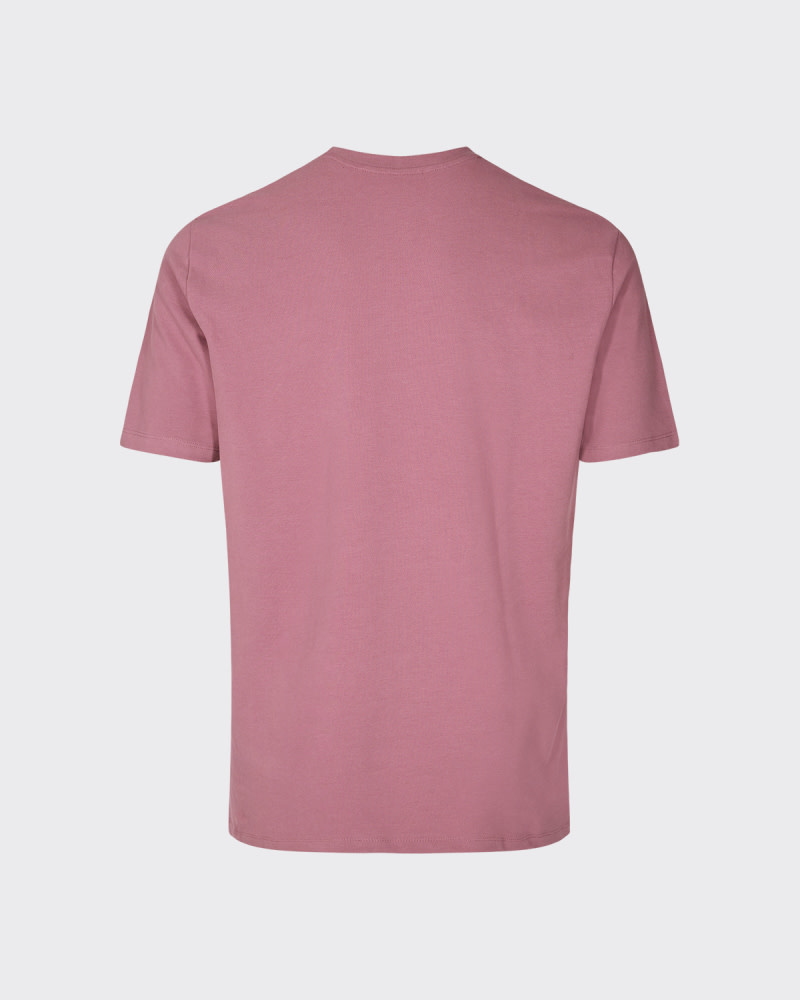 Minimum Minimum Sims Tee 2088 Pink-Bordeaux