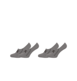Muchachomalo Muchachomalo Sneaker Sock 2-Pack Grey