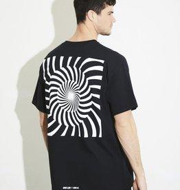 HNR LDN Honour Londen Konflict Spiral Oversized Tee Black