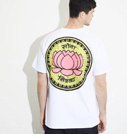 HNR LDN Honour Londen Lotus Coin Oversized Tee White