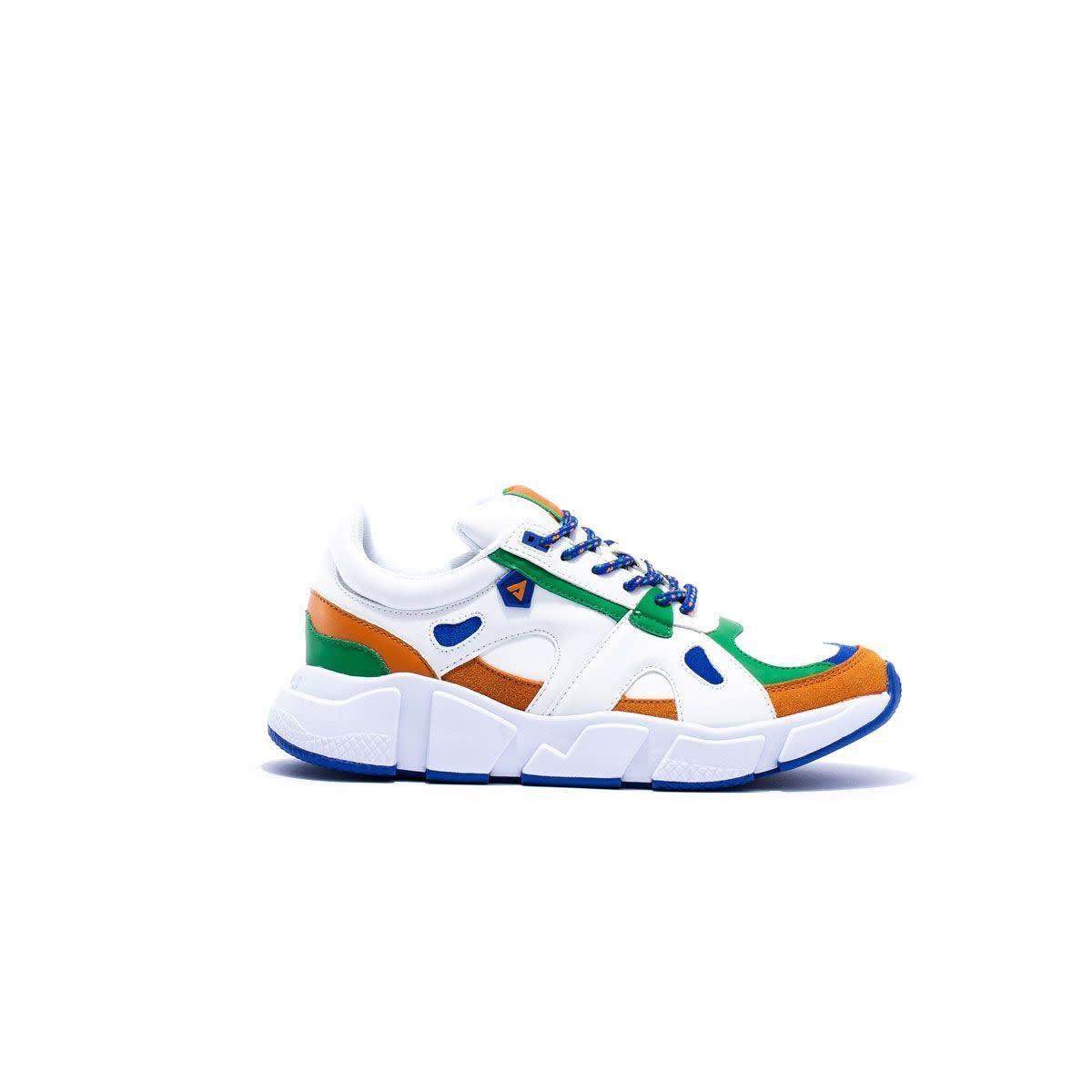 ASFVLT Sneakers Asfvlt Switch Sneakers White/Brown/Green/Blue
