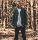 Kultivate Kultivate Clean Coach Jacket Forest Green