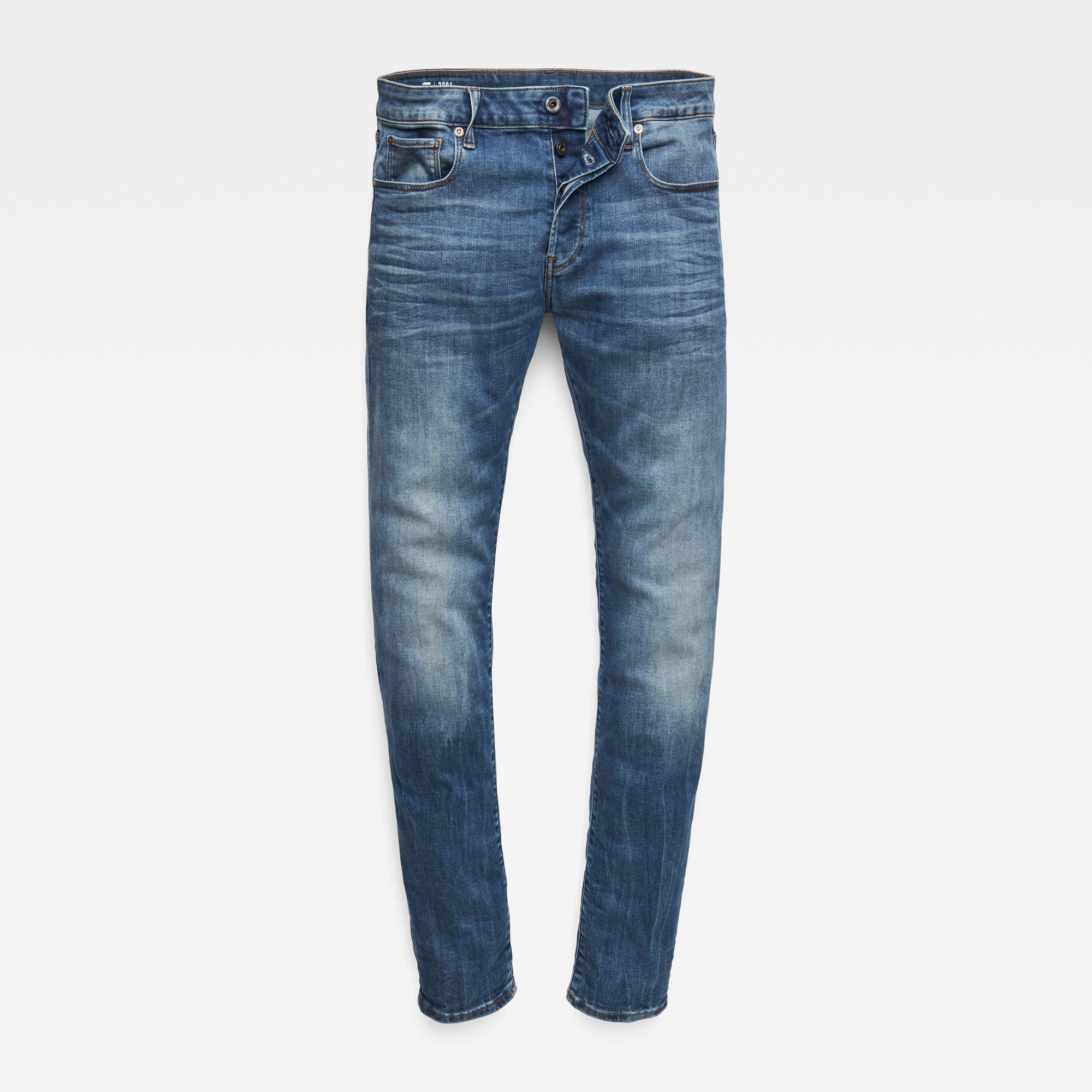 G-Star G-Star 3301 Slim 51001-8968-2965 Blue Washed