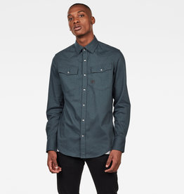 G-Star G-Star 3301 Slim Shirt Balsam Green