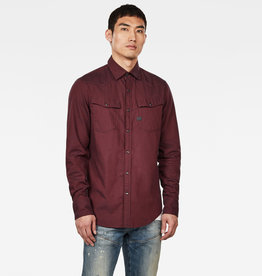 G-Star G-Star 3301 Slim Shirt Burned Red