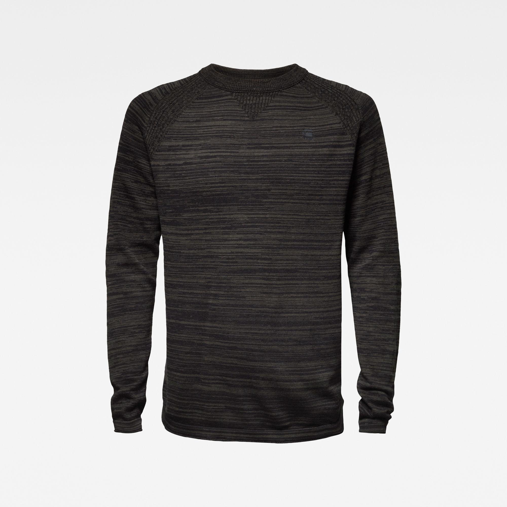 G-Star G-Star Core Solli Straight R Knit Black/Asfalt Grey