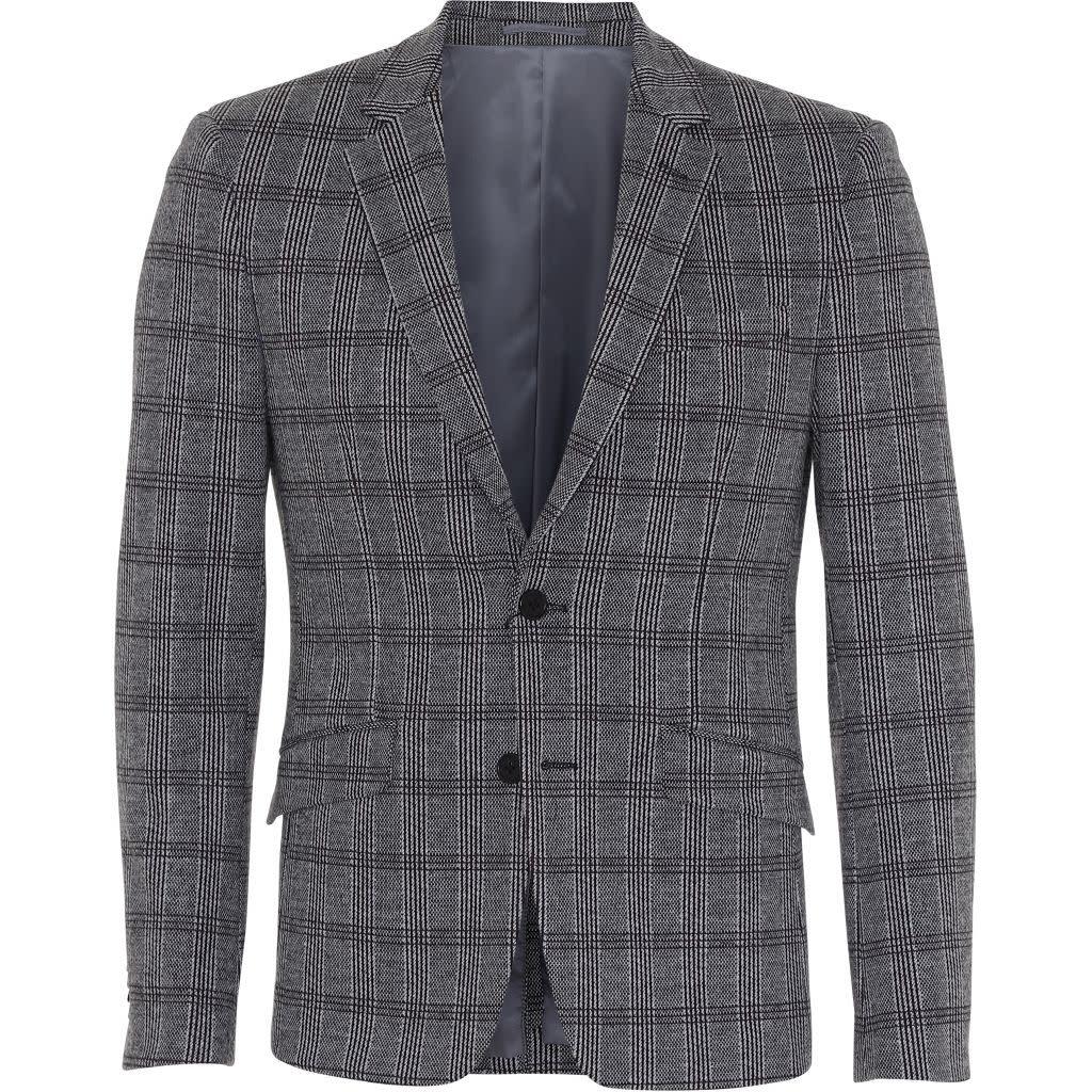 Clean Cut Clean Cut Messi Blazer Grey Checked
