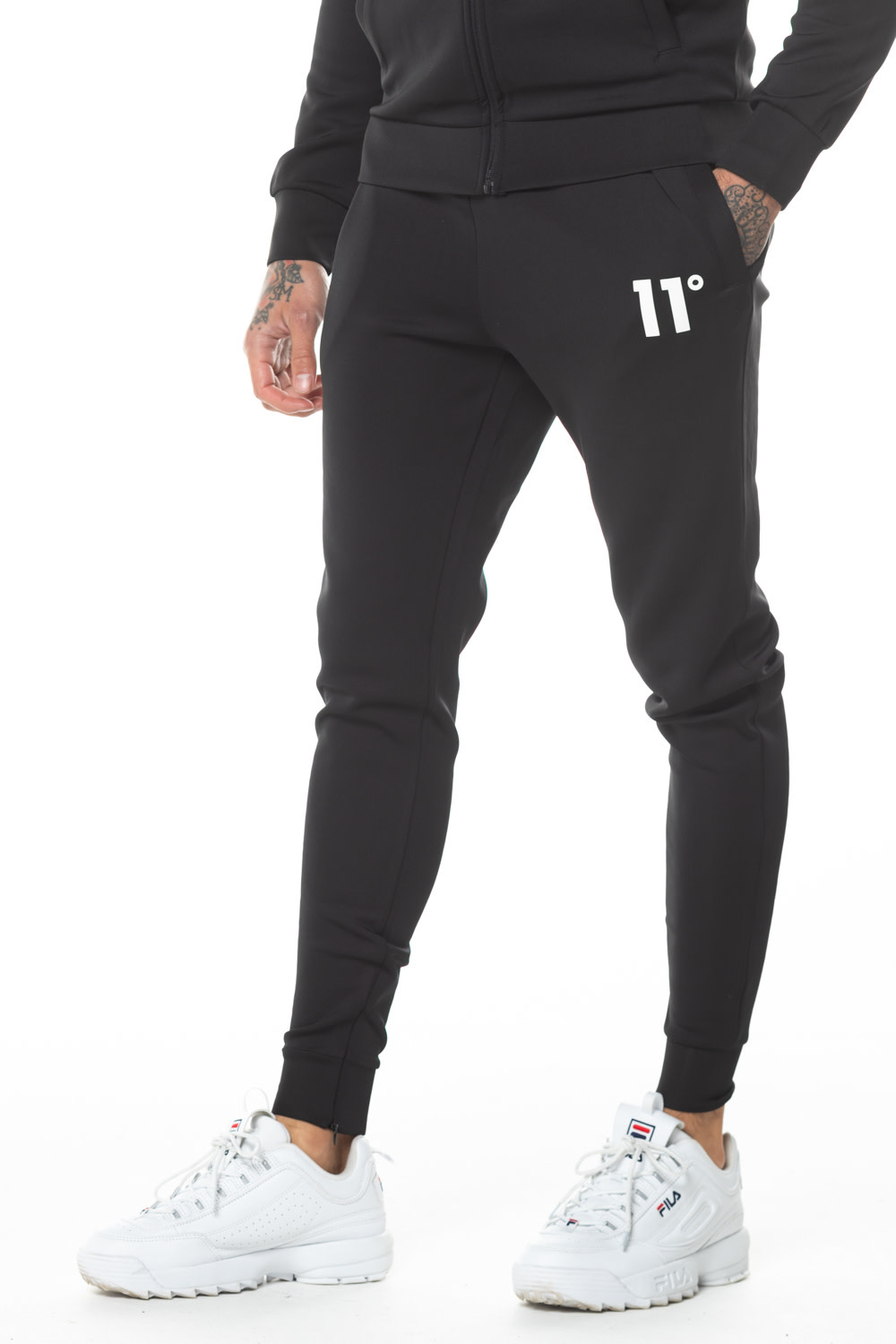 11 Degrees 11 Degrees Core Jogger Regular Fit Black
