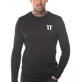 11 Degrees 11 Degrees Core Long Sleeve Tee Black
