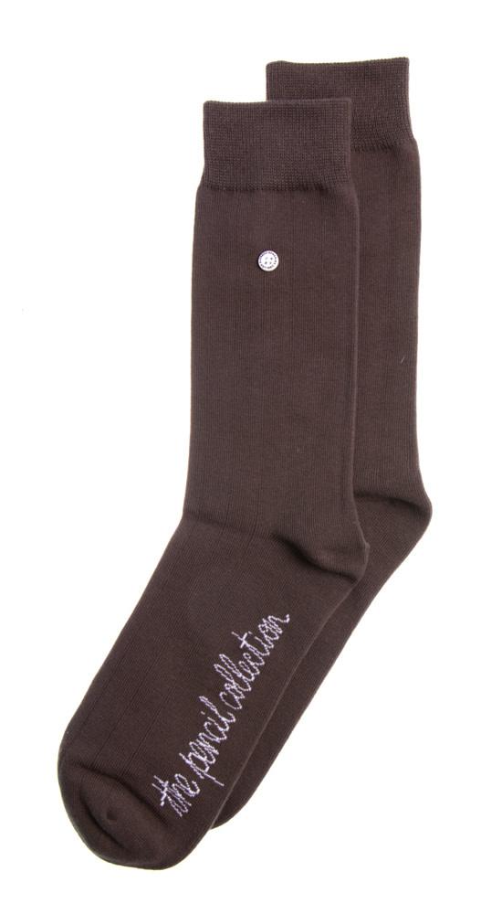 Alfredo Gonzalez Alfredo Gonzales Pencil Classic Socks Brown