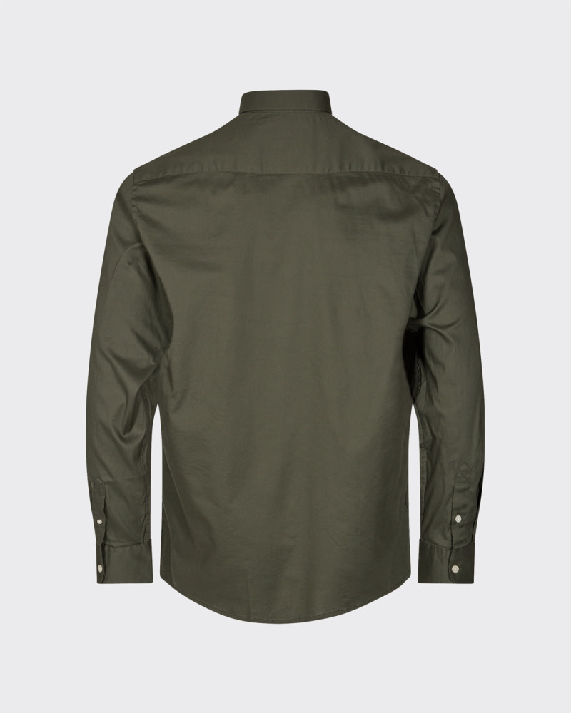 Minimum Minimum Walther 6952 Shirt Climbing Ivy Green