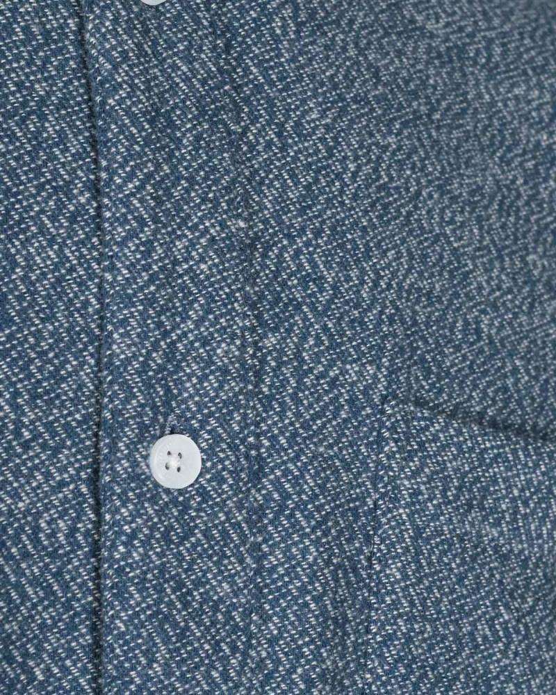 Minimum Minimum Jay 2.0 Check 6671 Shirt Sargasso Sea Blue