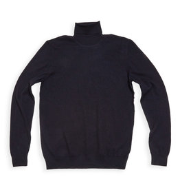 Gabba Denim Gabba Layt Roll Neck Knit Navy