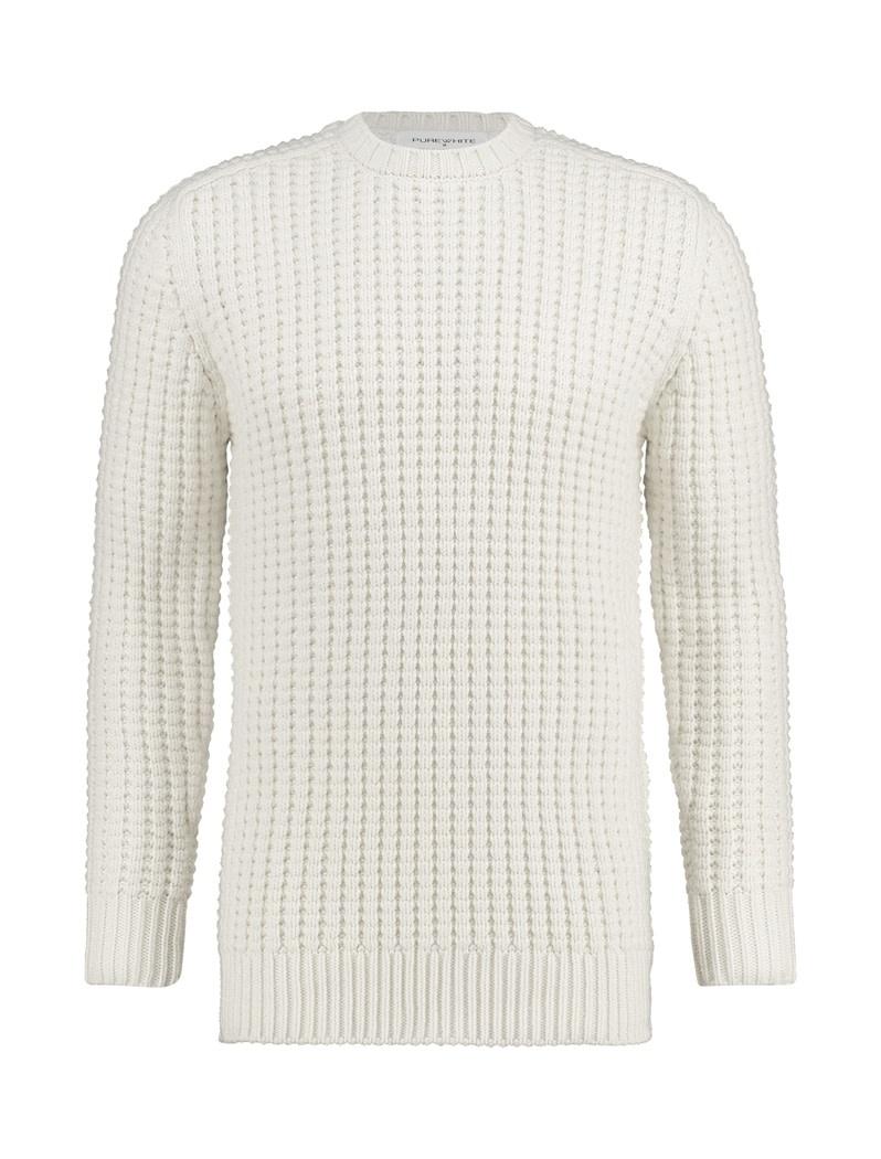 Purewhite Pure White 19030805 Knit Off White