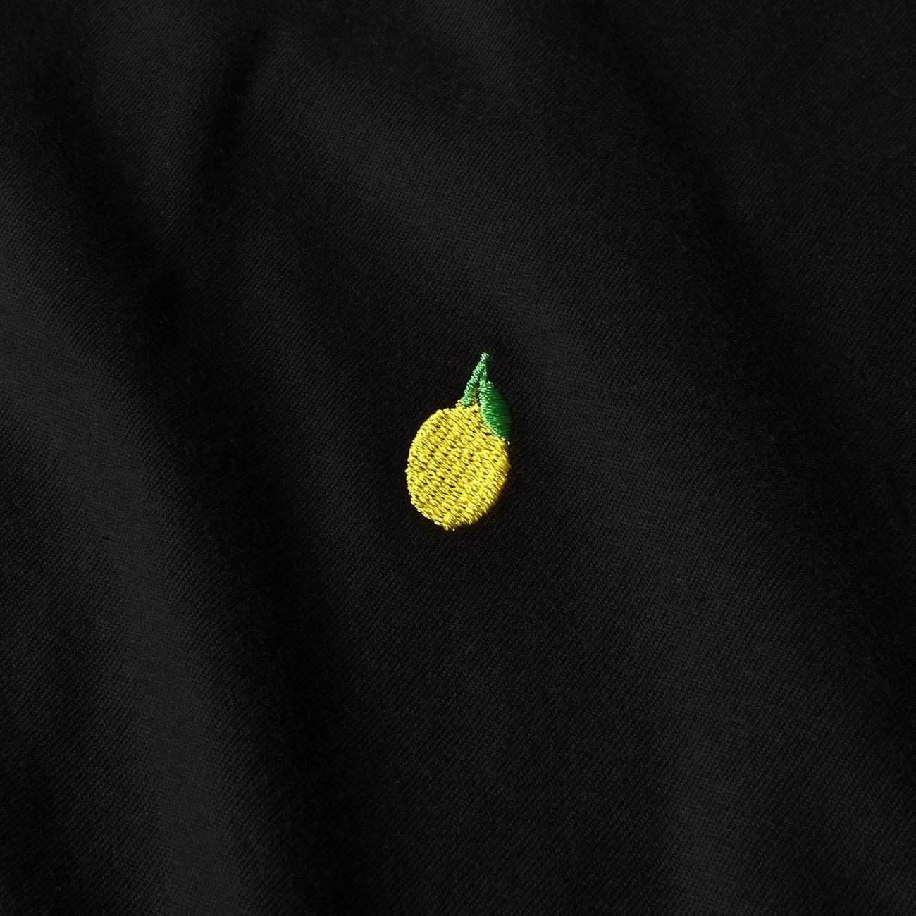 Dedicated Dedicated Stockholm Lemon Tee Black