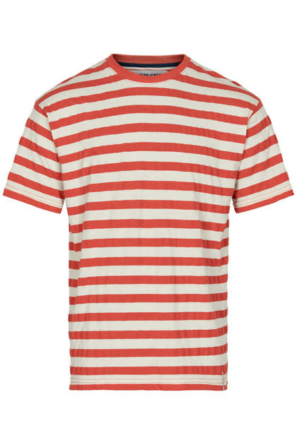 Anerkjendt Anerkjendt Akkikki Stripe Tee Summer FIG