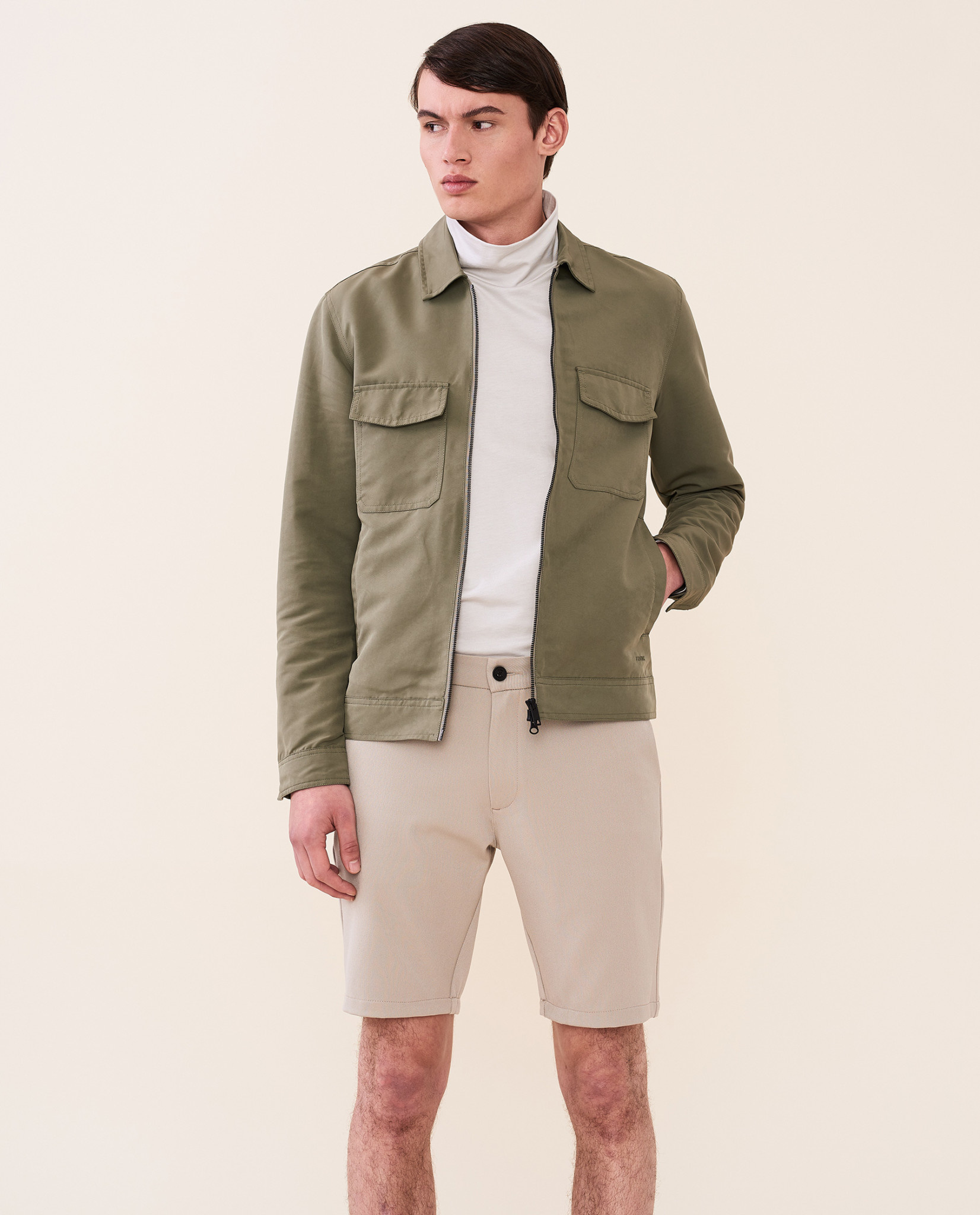 Elvine Elvine Kristoffer Jacket Faded Green