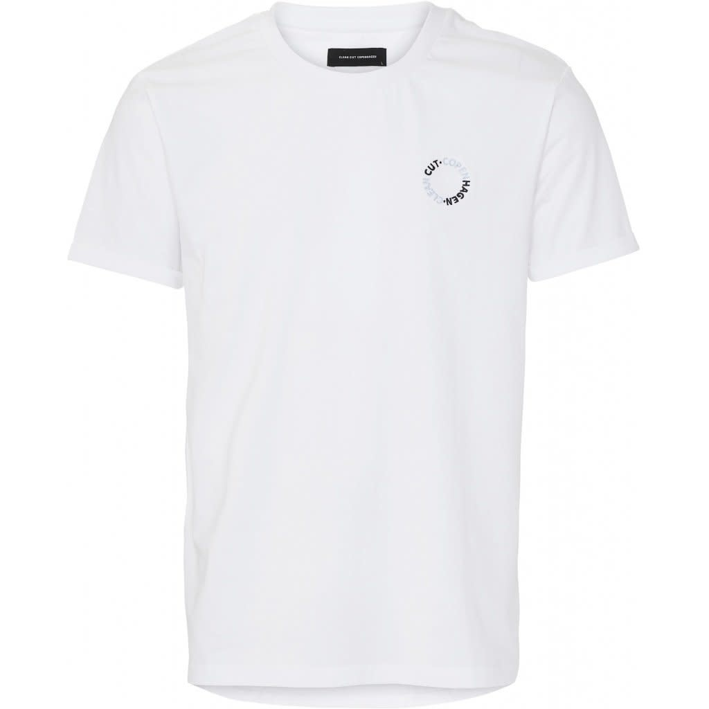 Clean Cut Clean Cut Antonie Logo Tee White