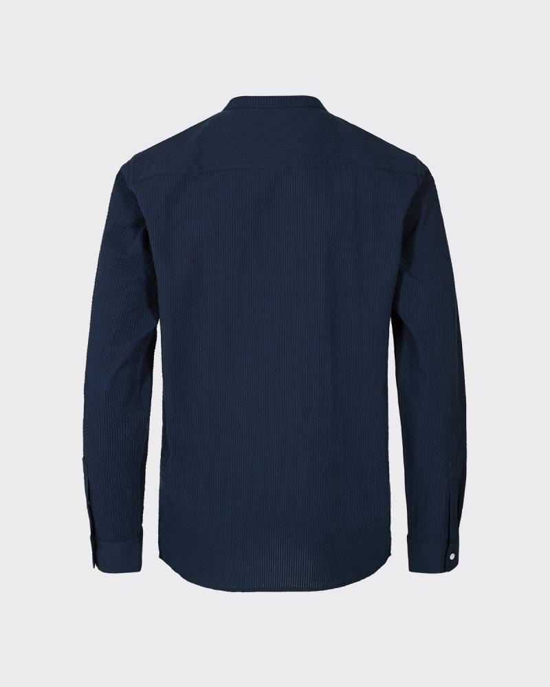 Minimum Minimum Anholt Shirt 6701 Dark Saphire Blue