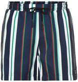 Anerkjendt Anerkjendt Akshark Stripe Swimshort Sapphire Blue