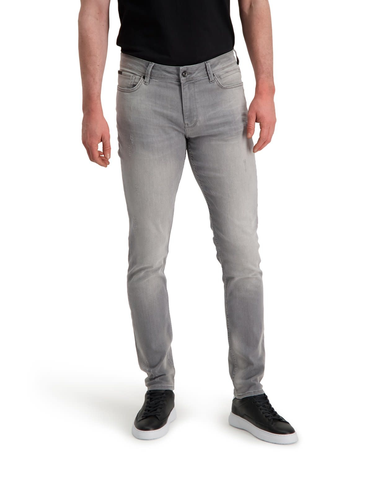 Pure White Pure White The Jone W0127 Jeans Grey