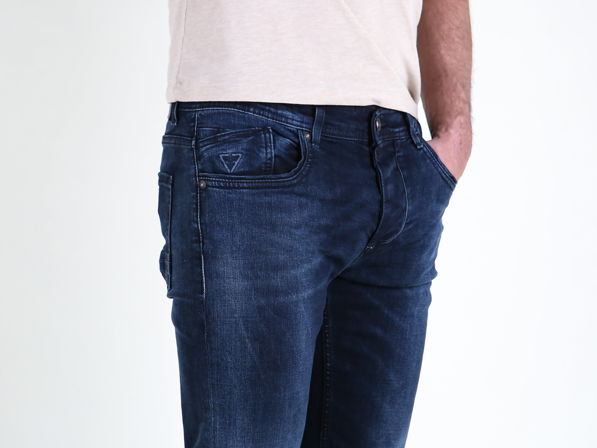 Fifty Four Fifty Four Rages JC76 Z-39 Slim Fit Jeans Dark Blue