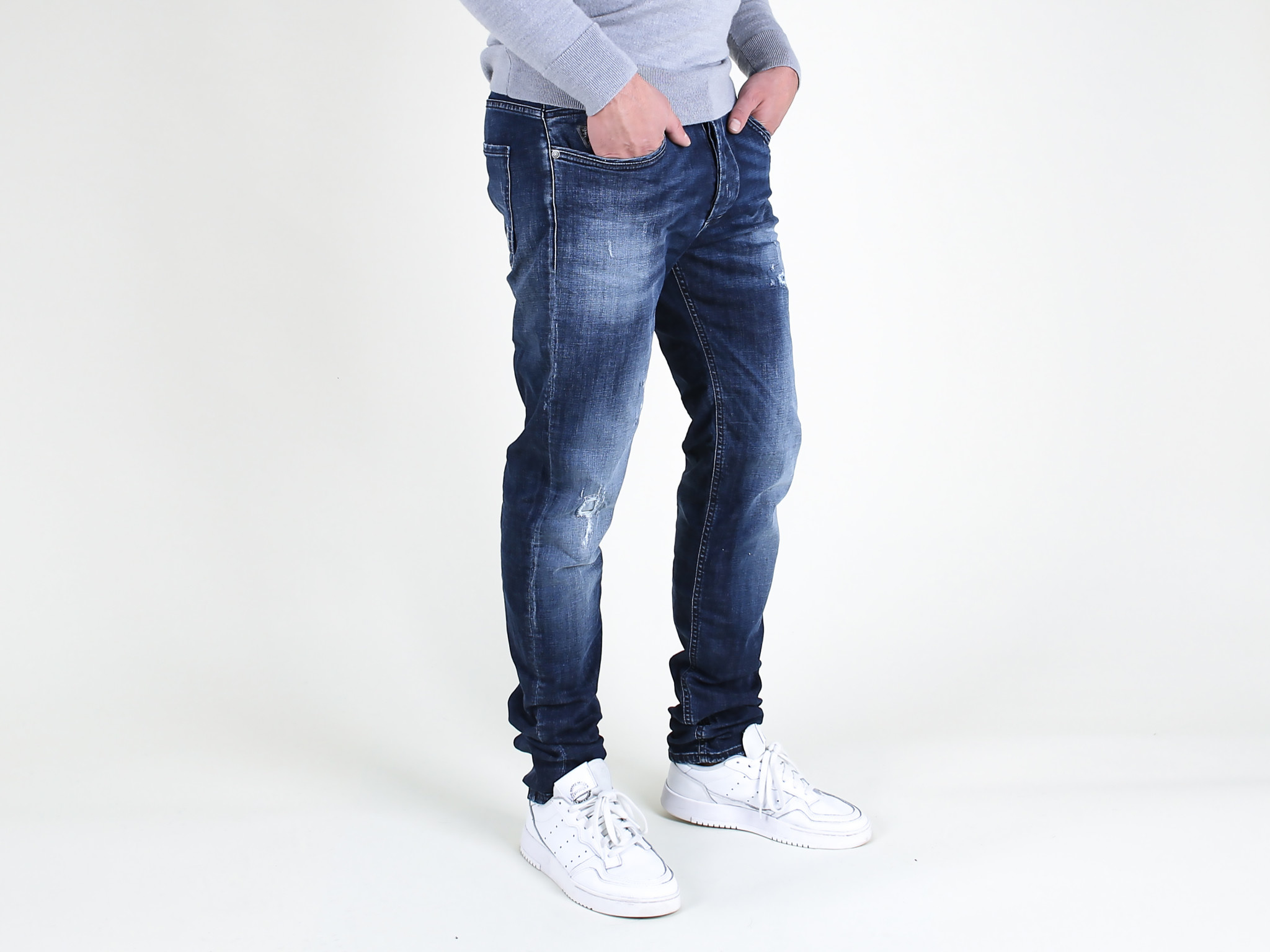 Fifty Four Fifty Four Rages JD81 T41 Jeans Damaged Blue