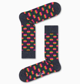 Happy Socks Happy Socks SUD01-9800 Sunrise Dot Sock Grey