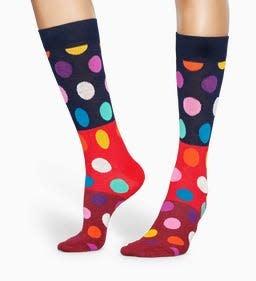 Happy Socks Happy Socks BDB01-4300 Big Dot Multi