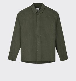 Minimum Minimum Riber Spot Shirt 6245 Army Green