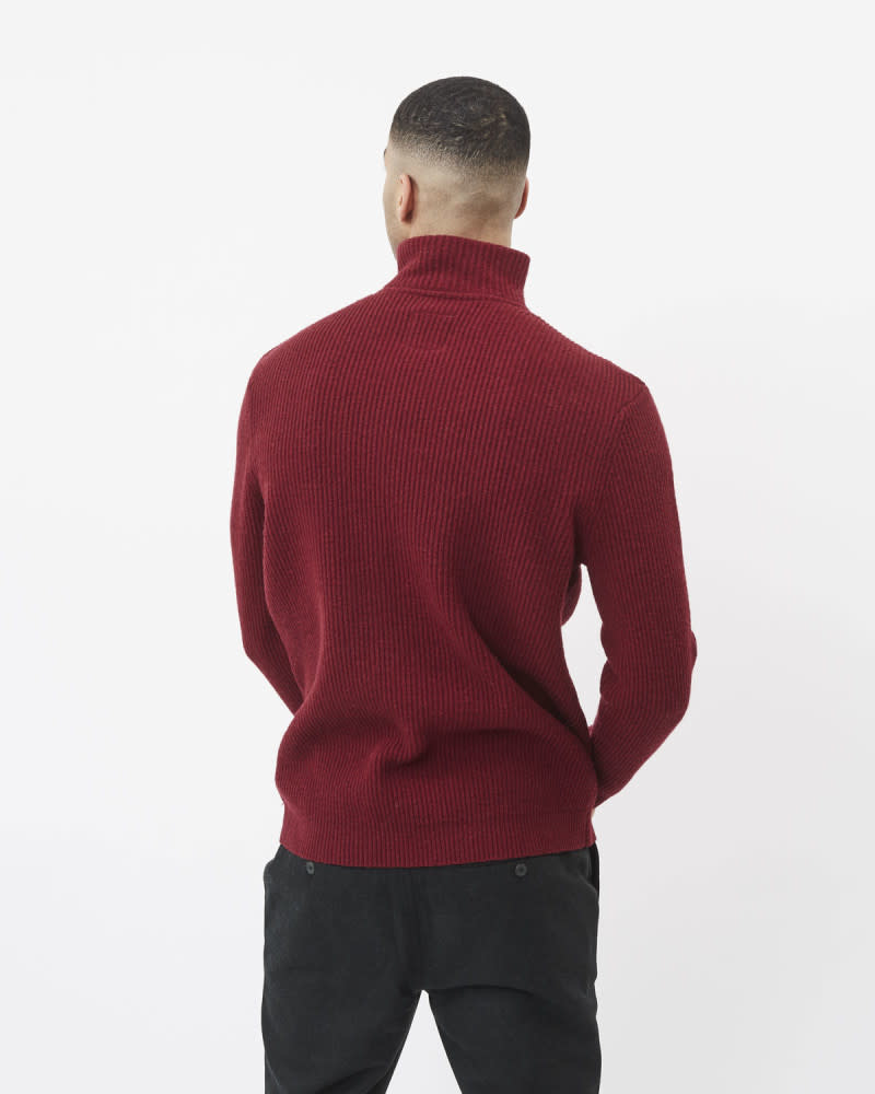 Minimum Minimum Tombow Knit Bordeaux
