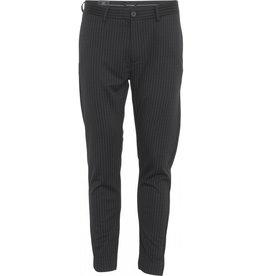 Clean Cut Clean Cut Milano Jersey Pinstripe Pant Black