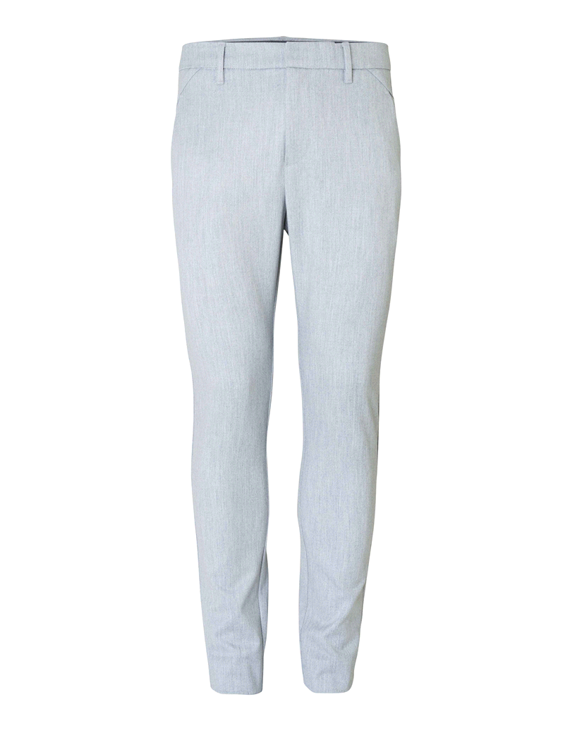 Plain Plain Josh 985 Pants Light Grey Mel Blend
