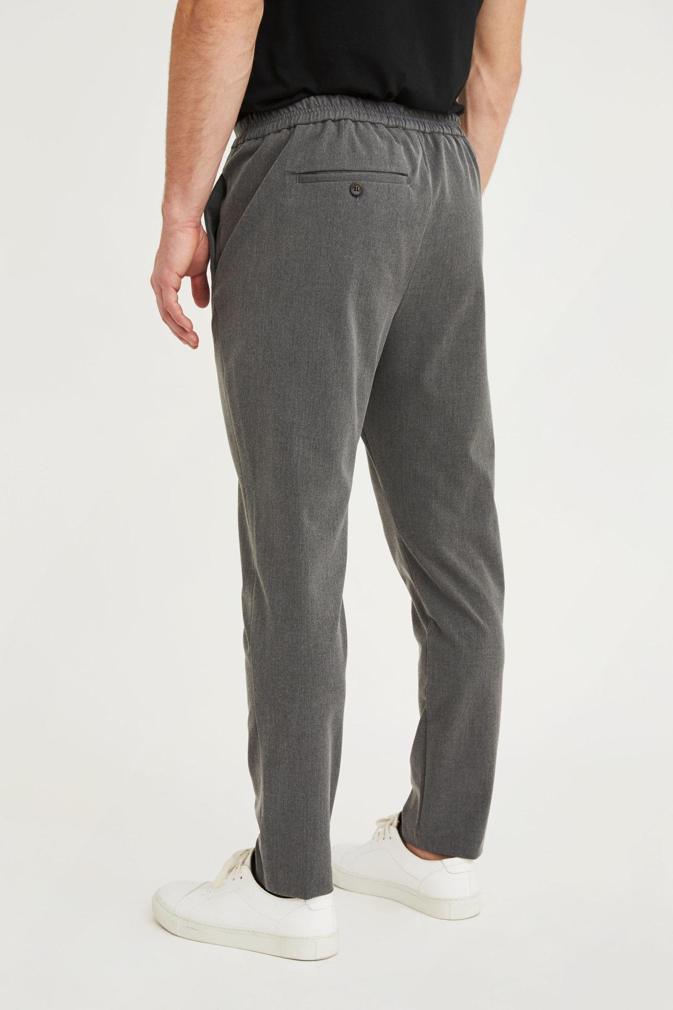 Plain Plain Riley 315 Pants Grey Melange