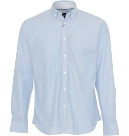 Clean Cut Clean Cut Copenhagen Oxford Plain Shirt Light Blue