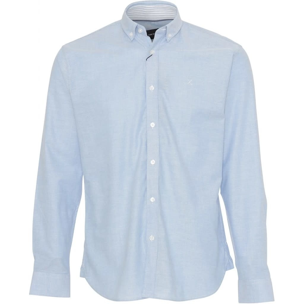 Clean Cut Clean Cut Copenhagen Oxford Plain Shirt Light Blue