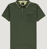 Kultivate Kultivate Crossing Pocket Polo Kombu Green