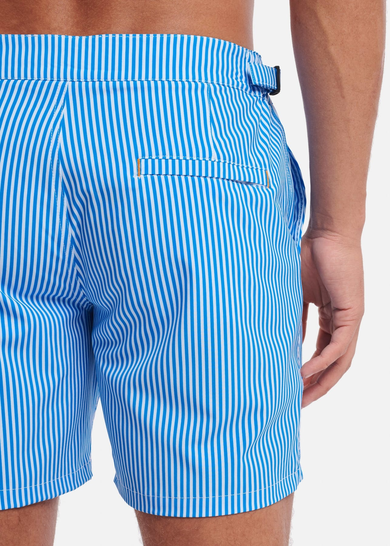 SHIWI Shiwi Easyfit Pinstripe Stretch Swimshort Blue