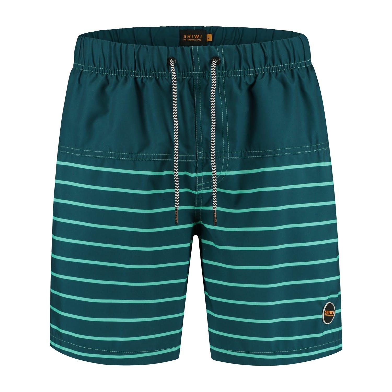 SHIWI Shiwi Placed Stripe Swimshort Pappagallo Blue