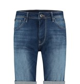 Pure White Pure White The Steve W0472 Denim Stretch Short Blue