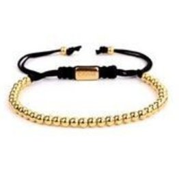 Caviar Collection Caviar Star Serie Quartra Armband Gold
